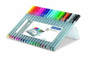 Staedtler Triplus Fineliner Pen Office Home Pens School Supply Free Shipping Pin