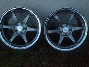 Ssr Comp Type C One 18x9 55 Concave Volk Work Bbs S2000 Rx8