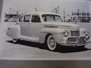 1942 Lincoln Continental 12 X 18 Large Picture Photo