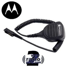 Impres Real Motorola small Head Mototrbo Speaker Mic Pmmn4073a Xpr3300 Xpr3500