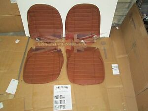 New Pair Of Seat Covers Upholstery Mgb 1973 80 Made In Uk Autumn Leaf Sc124k