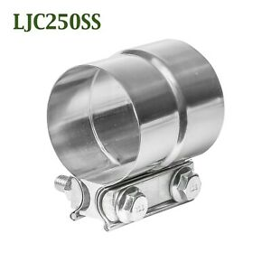 Ljc250ss 2 5 2 1 2 Lap Joint Seal Exhaust Clamp Bear River Quality Stainless