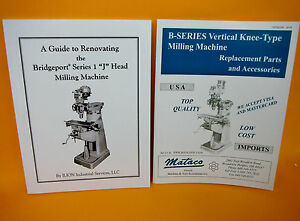 Renovation Guide For Bridgeport Step Pulley Milling Machine Parts Catalog