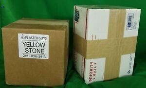 Yellow Dental Stone 25 Lbs For 34 50 Free Fast Shipping Made In Usa