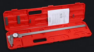 24 x0 001 Heavy Duty Dial Caliper Stainless Steel In Fitted Case 1721 0024