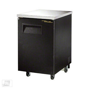 True tbb 1 23 Solid Door Back Bar Cooler
