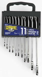 Gearhead Metric Combination Wrench Set 11 Piece Gh6401