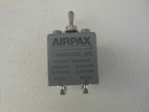 Airpax Aircraft Circuit Breaker Toggle Switch Ap12 1 6 2 702