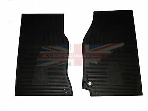 New Set Of Amco Style Rubber Floor Mats Triumph Tr4 Tr4a Tr250 Tr6