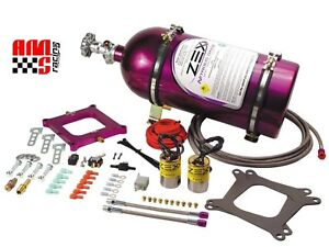 Zex 82221 100 300 Hp Perimeter Plate Wet Nitrous Kit