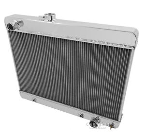 1966 1967 Pontiac Lemans Tempest Gto 2 Row Core Champion Radiator Dr