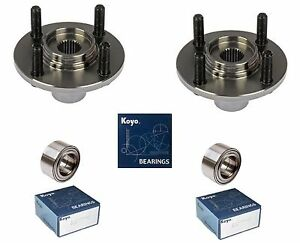 1992 2000 Honda Civic Front Wheel Hub Koyo Bearing Kit Ex Coupe Si Pair