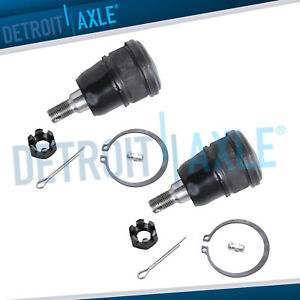 Pair Front Lower Ball Joints For 2001 2005 Honda Civic Acura El Sedan Coupe