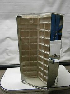 Large Countertop Rotating Acrylic Jewelry Display Case earring necklace 7040 Nib