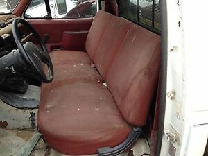 Ford F 150 F250 F350 Truck Red Bench Seat