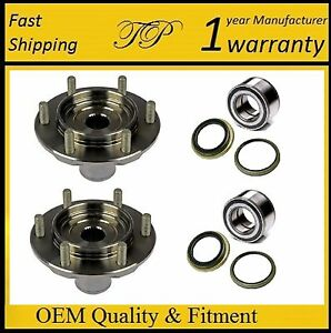 Front Wheel Hub Bearing Seal Kit For 2000 2006 Toyota Tundra 4wd 4x4 Pair