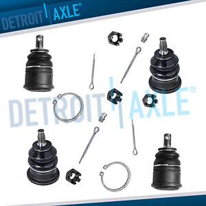 1998 1999 2000 2001 2002 Honda Accord All 4 Front Upper Lower Ball Joints