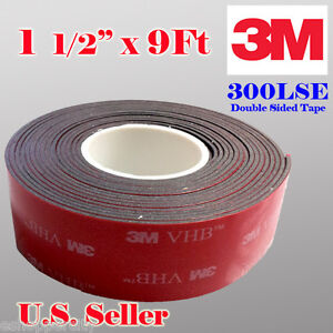 3m 1 5 X 9 Ft Vhb Double Sided Foam Adhesive Tape 5952 Automotive Mounting