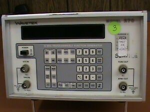Wavetek 12mhz Programmable Function Generator
