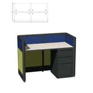 Call Center Cubicles Teaming Cubicles Modular Panel Systems 39 h Seats 4