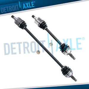 2 Front Driver Passenger Side Axle 2 3l Auto W Abs 1998 02 Honda Accord Usa