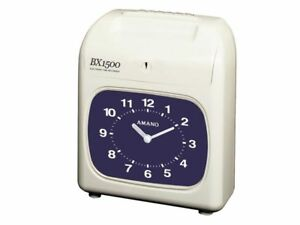 Amano Bx 1500 Electronic Time Clock