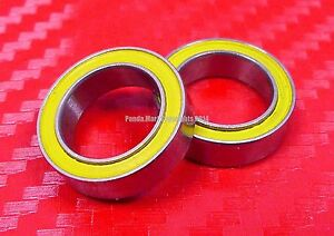 qty 4 S6002 2rs 15x32x9 Mm Ceramic 440c S steel Ball Bearing 6002rs Abec 5