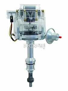 New Sbf Small Block Ford Hei Distributor 5 8l 351w Windsor 1 Wire Ready To Run