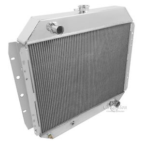 chevy V8 Conversion 1966 1978 1979 Ford Pickup Truck 3 Row Dr Radiator