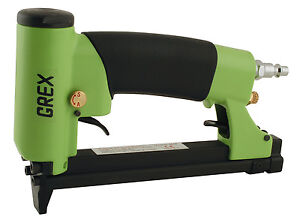 New Grex 22 Gauge 3 8 Crown Auto fire Upholstery Stapler 71af Free Staples