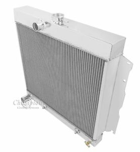 1965 1966 1967 1968 1969 Plymouth Satellite 3 Row Dr Radiator 22 Wide Core