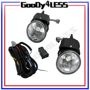 For Nissan Frontier Sentra Maxima Xterra Fog Lights Kit Oe Style Pair Harness