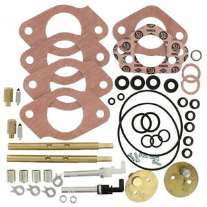Genuine Su Master Carburetor Rebuild Kit Pair 72 74 Mgb Hif 4 Crk116