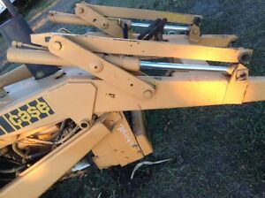 Case 580b Loader backhoe Right Tilt Control For Loader Bucket Less Cylinder