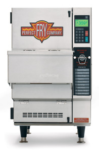 Perfect Fry Pfa5708 Fully automatic Ventless Countertop Deep Fryer 5 7 Kw 208v