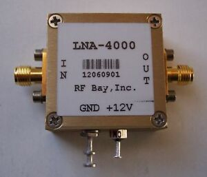3000 5000mhz Low Noise Amplifier Lna 4000 New Sma