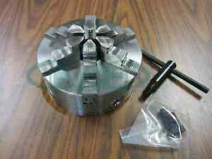 6 6 jaw Self centering Lathe Chuck W Solid Jaws 0 003 Tir new