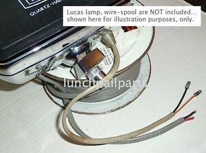 Nos Ford Autolite Repair Wiring Lucas Fog Lamps 68 Shelby Cobra Gt350 Gt500 Kr