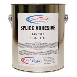10 Cases 4 1 Gallon Pails case 40 Pails Black Splice Adhesive For Epdm Seams