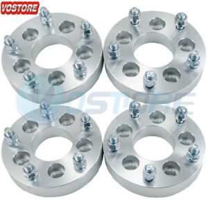 4 1 25 5 Lug Wheel Spacers Adapters 5x4 5 To 5x5 5 For Jeep Liberty Lincoln