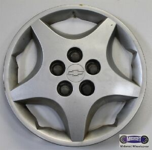 00 05 Chevy Cavalier Used Hubcap 5 Spoke Fake Lugs Star Shaped 03234