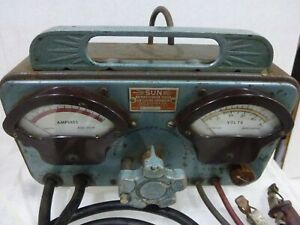 Sun Electric Antique Battery Starter Tester Model Y 26322