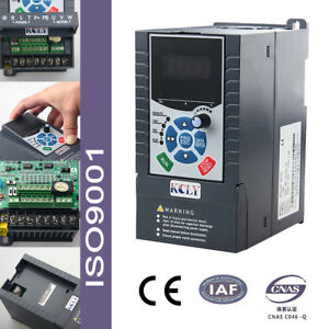 2 2kw 3hp Vfd 3phase 380 415v 5 1a Variable Frequency Drive Inverter Iso
