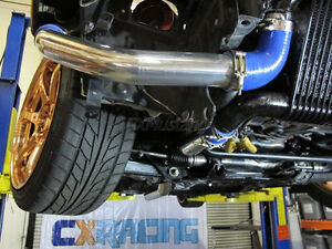 Cxracing 2 5 Intercooler Piping Kit For Toyota Supra Mkiii 7m Gte Stock Turbo