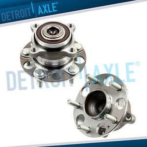 2 Rear Wheel Bearing Hub Assembly For 2009 2012 Honda Accord Acura Tsx