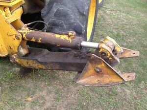 Reduced John Deere 310c Backhoe Left Stabilizer With Foot Less Cylinder