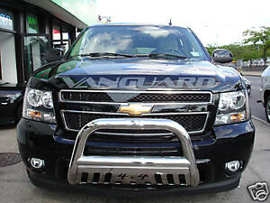 Vanguard 07 14 Chevy Tahoe Front Bumper Protector Guard Bull Bar S S