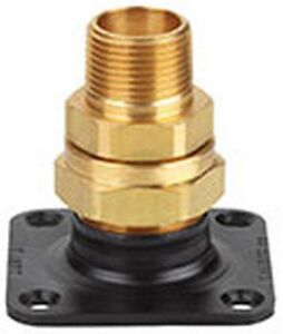 Flashshield Termination Fitting 3 4 In flange adapter nut bushing