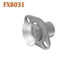 Fx8031 2 Semi Direct Fit Exhaust Flared Y Pipe Manifold Oval Flange Repair Kit