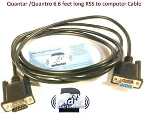 Motorola Quantar Quantro Repeater Serial Programming Cable Usa Made vhf Uhf 800